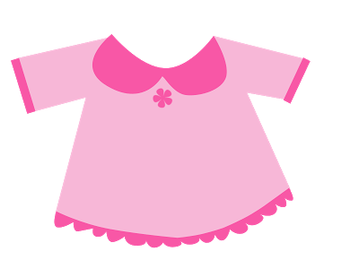 400x300 Dress Clipart Pink