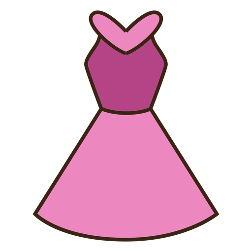 512x512 Pink Dress Clipart Clipart Transparent