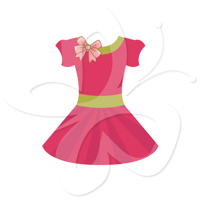 801x800 Pink Dress Clipart Outfit