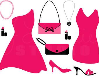 340x270 Pink Dress Clipart Prom Dress