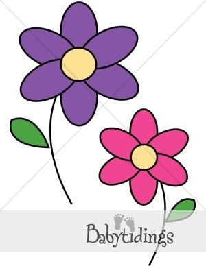 300x388 Baby Flowers Clip Art