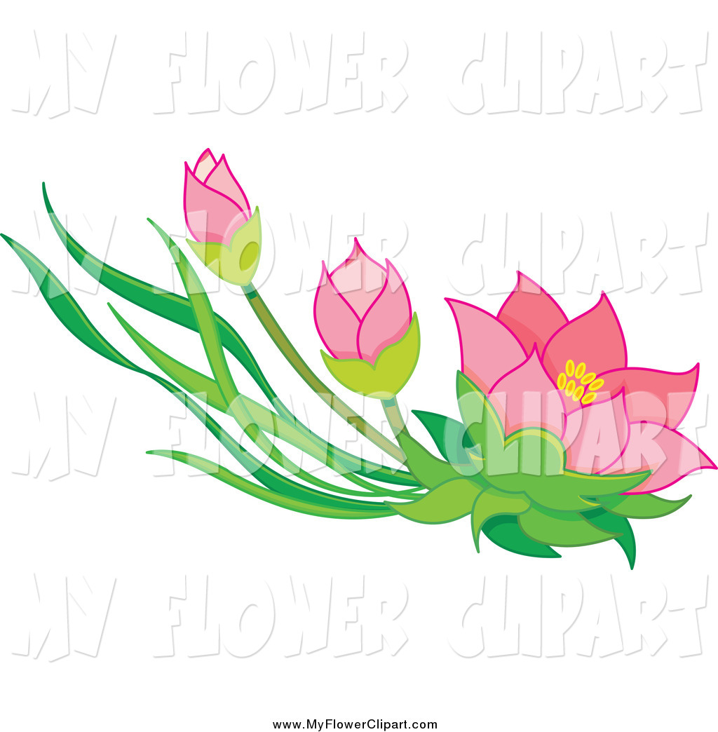Pink Flowers Clipart Free Download Best Pink Flowers Clipart On