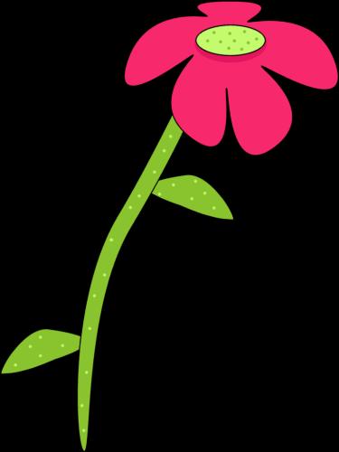 Pink flowers clipart free download best pink flowers clipart on 375x500 pink and green droopy flower clip art mightylinksfo