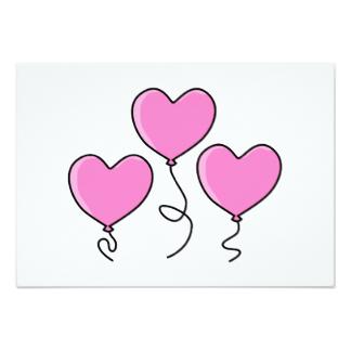324x324 Heart Outline Invitations Amp Announcements Zazzle