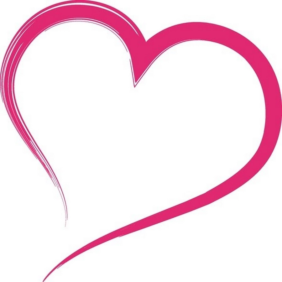 Free Love Clipart Image 0071-0804-0614-5641 | Valentine ... |Pink Heart Outline Clipart