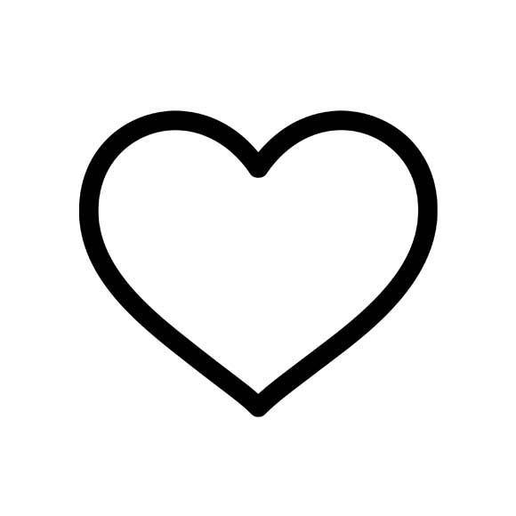 Pink Heart Outline Free Download Best Pink Heart Outline On