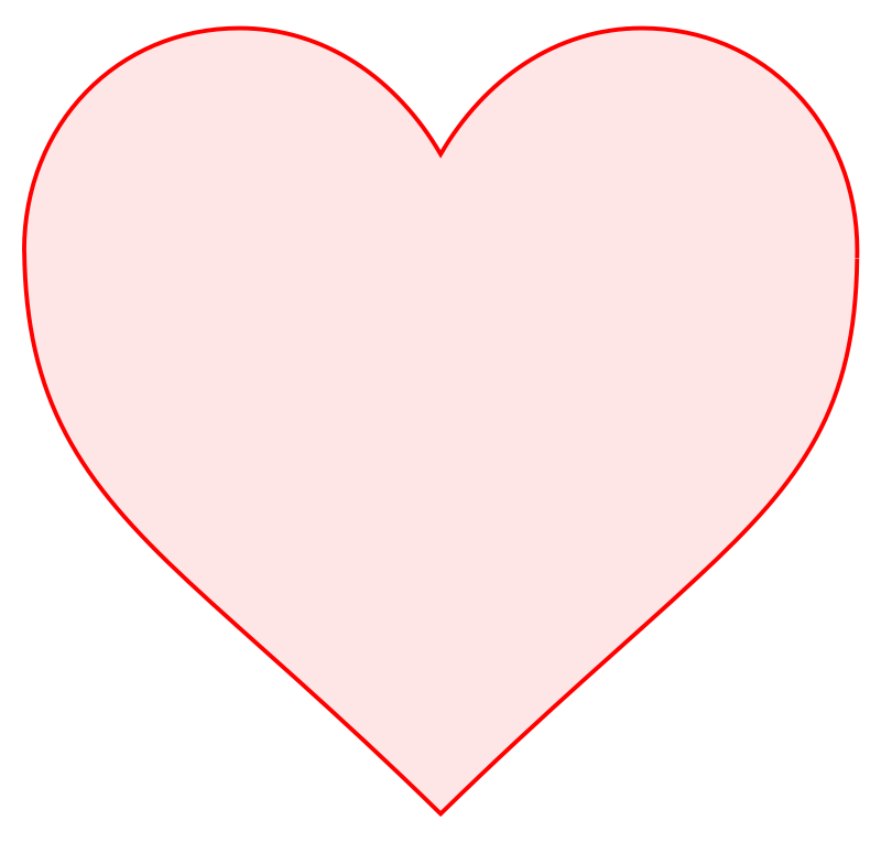 Pink Heart Outline - ClipArt Best |Pink Heart Outline Clipart
