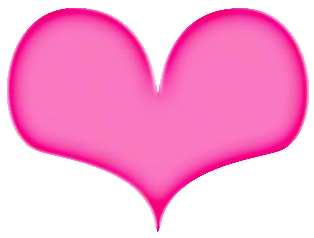 1323x1000 Hot Pink Heart Png File Png Mart