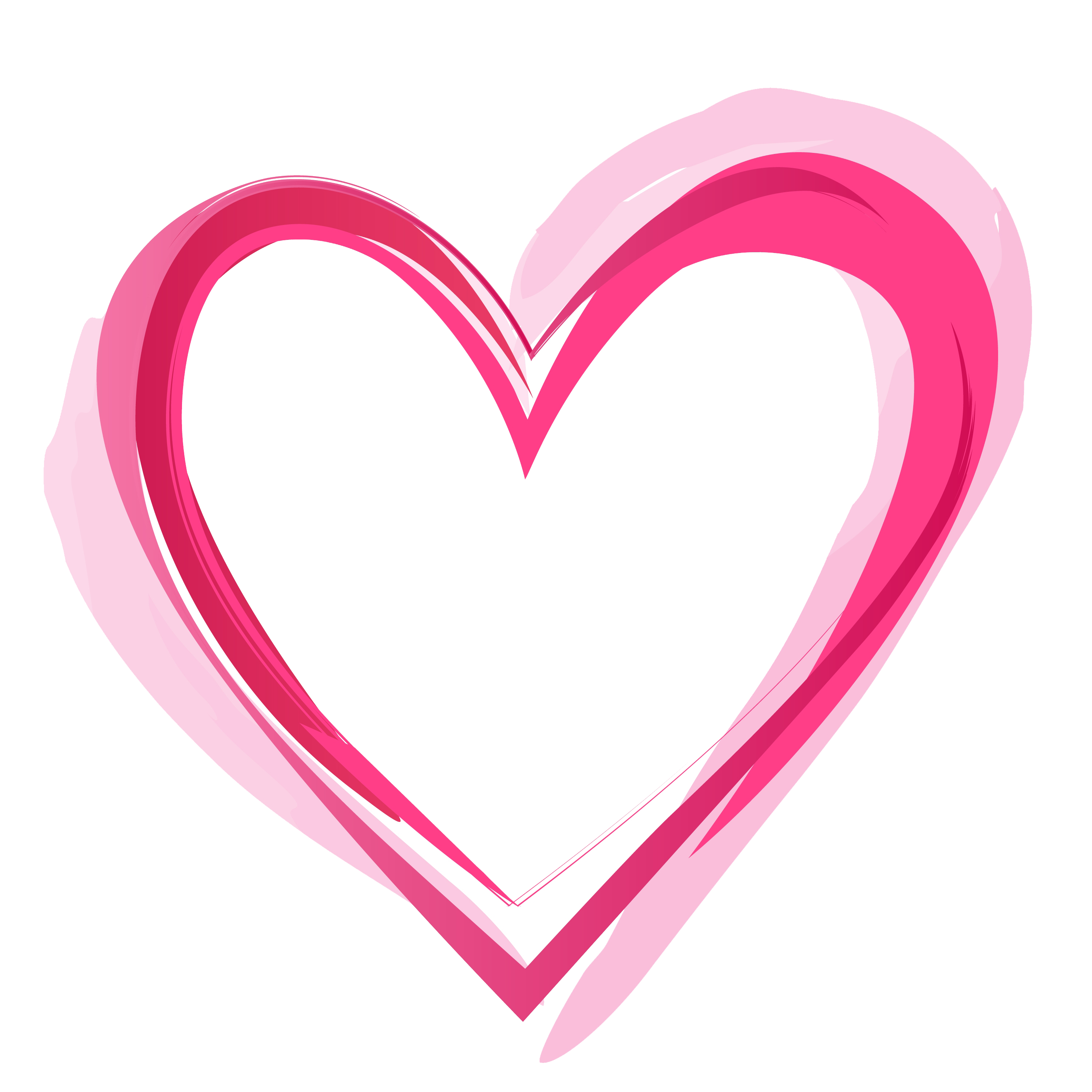 3000x3000 Pink Heart Png Pic Png Mart