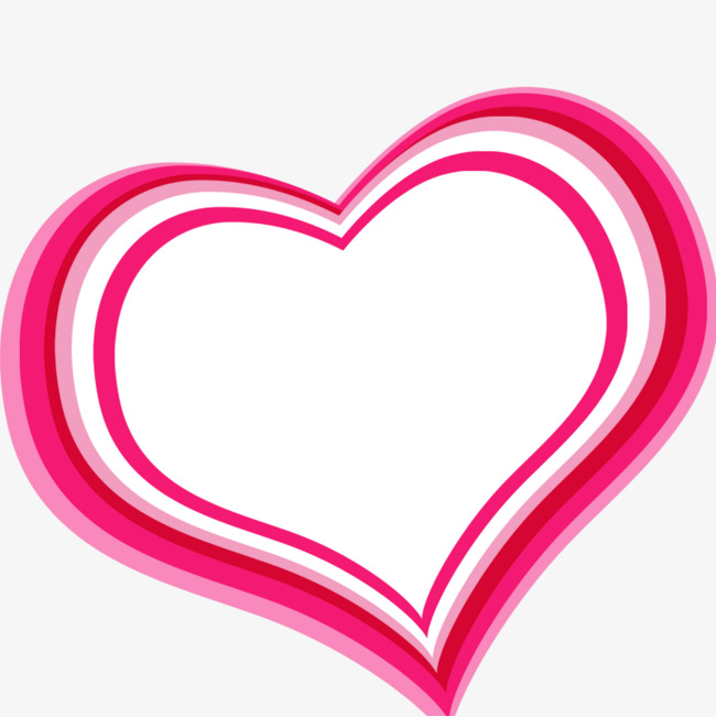 650x651 Pink Heart Shaped Border, Pink, Border Material, Heart Shaped Png