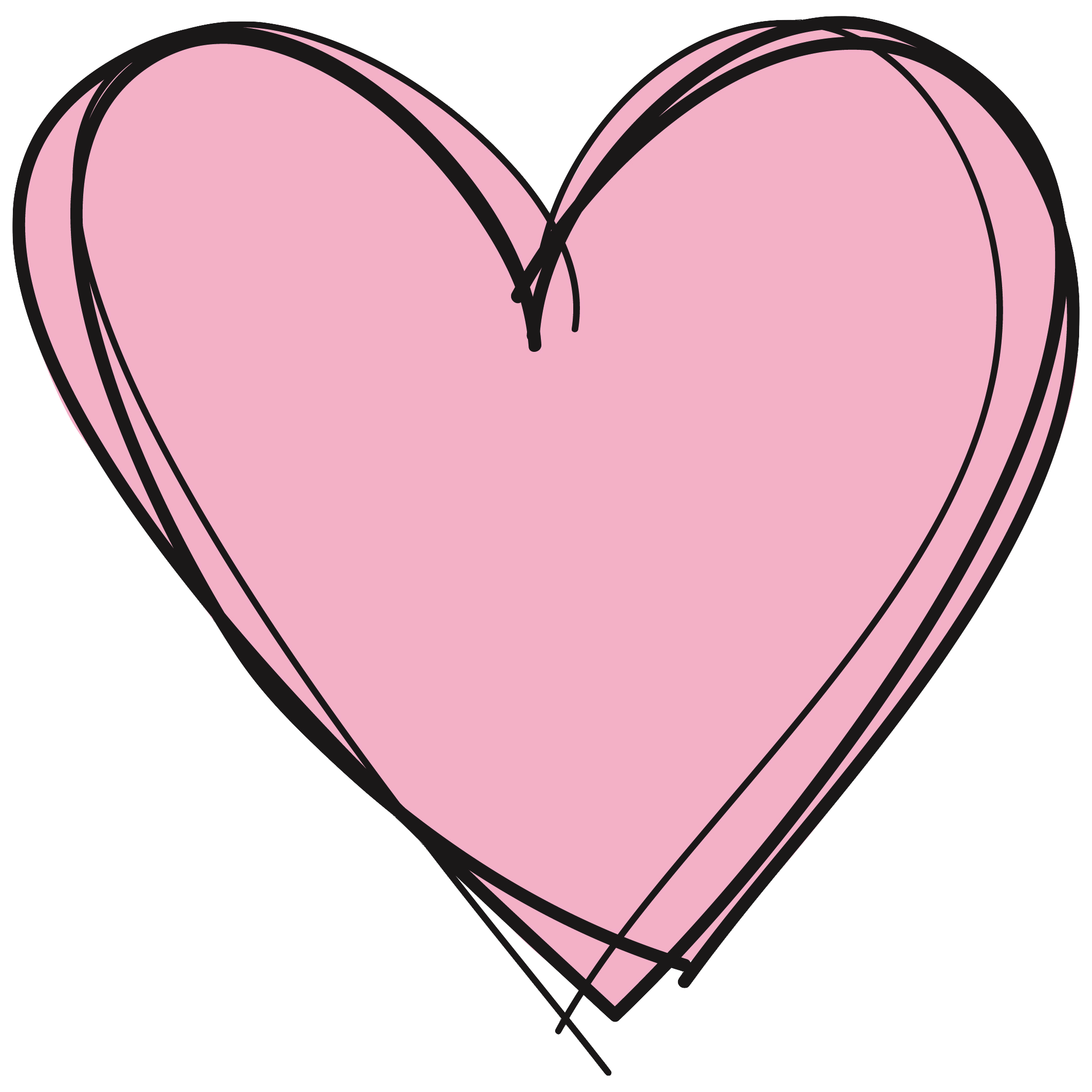 2126x2126 Drawn Hearts Png Tumblr