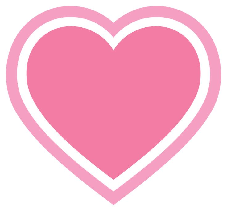 736x685 Hearts clipart baby pink