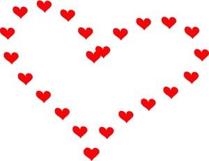300x232 Hearts Clipart Little Heart
