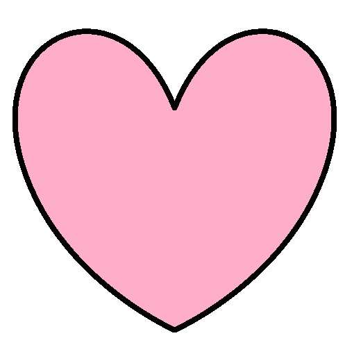 520x510 Hearts clipart pink heart