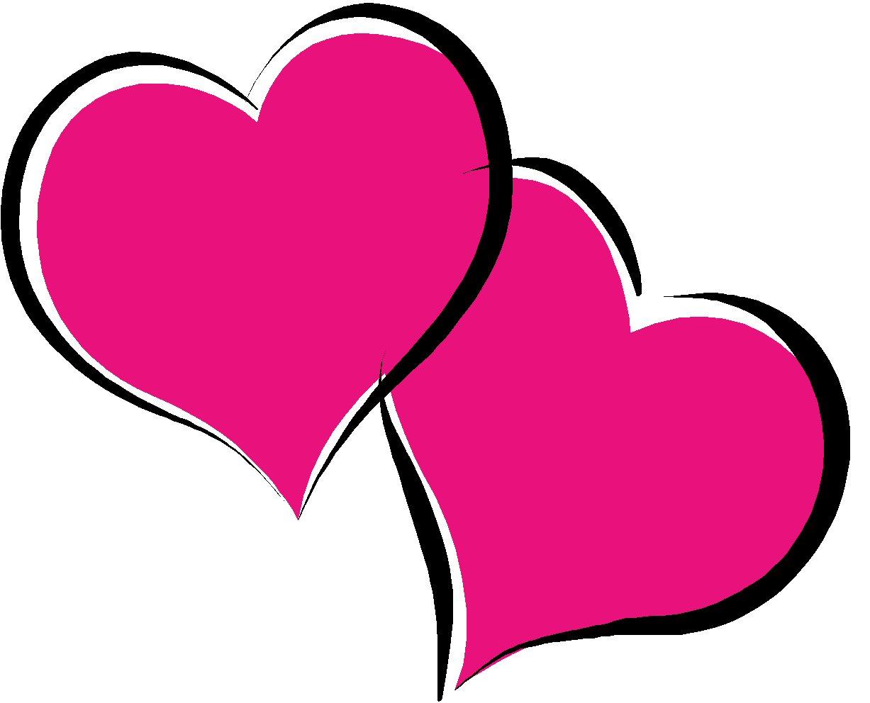 1227x992 Pink Heart Clip Art