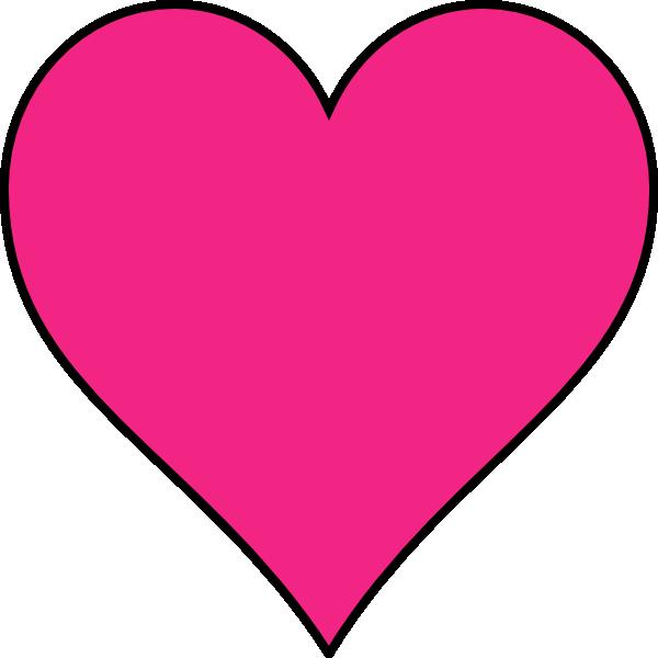 600x600 Pink Heart Clipart