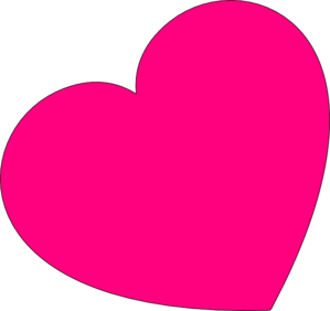 299x282 Small Pink Heart Clipart