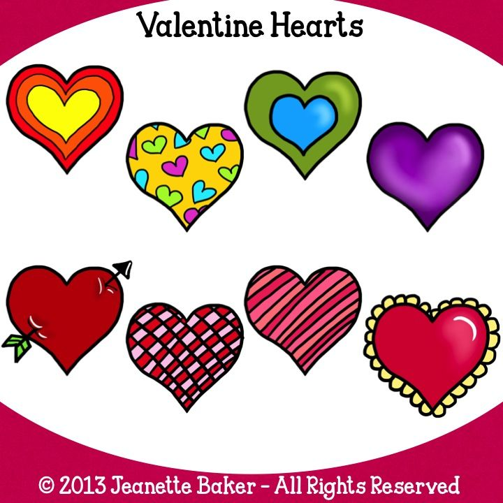 720x720 The Best Heart Clip Art Ideas Valentine Heart