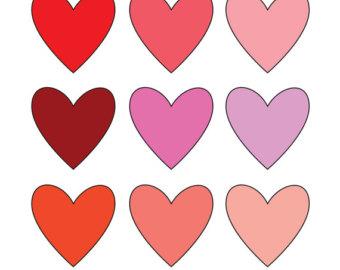 340x270 Valentine's Day Hearts Clipart Clip Art Love Clipart Clip