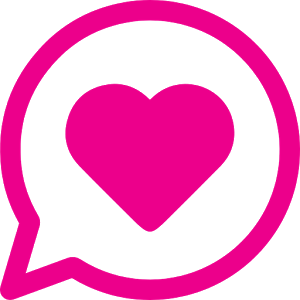 300x300 pink double heart clipart