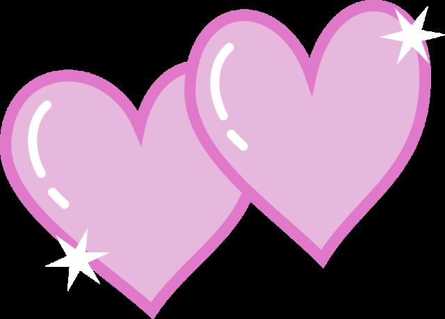 640x459 Double Hearts Clip Art