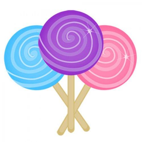 500x500 Pink Clipart Swirl Lollipop