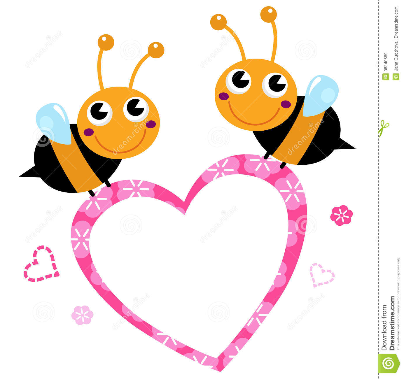1385x1300 Free Clipart Images Bees Hearts
