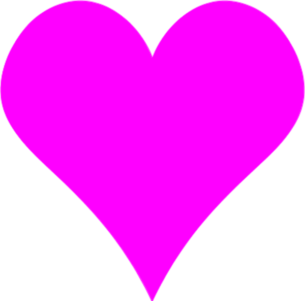 600x591 Heart Shapes Clipart