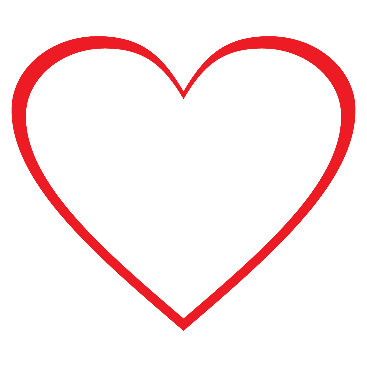 1200x1200 Loveheart Clipart