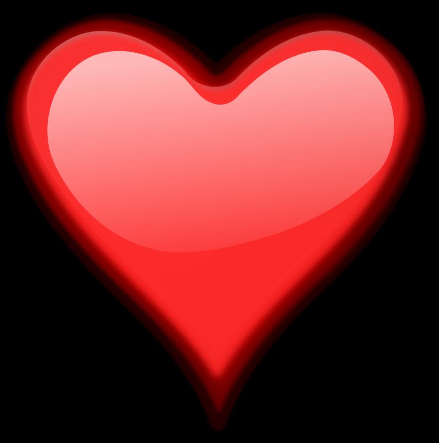 892x900 Pink Heart Clipart