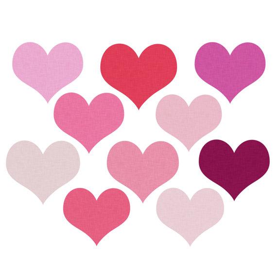 570x570 Top 69 Hearts Clip Art