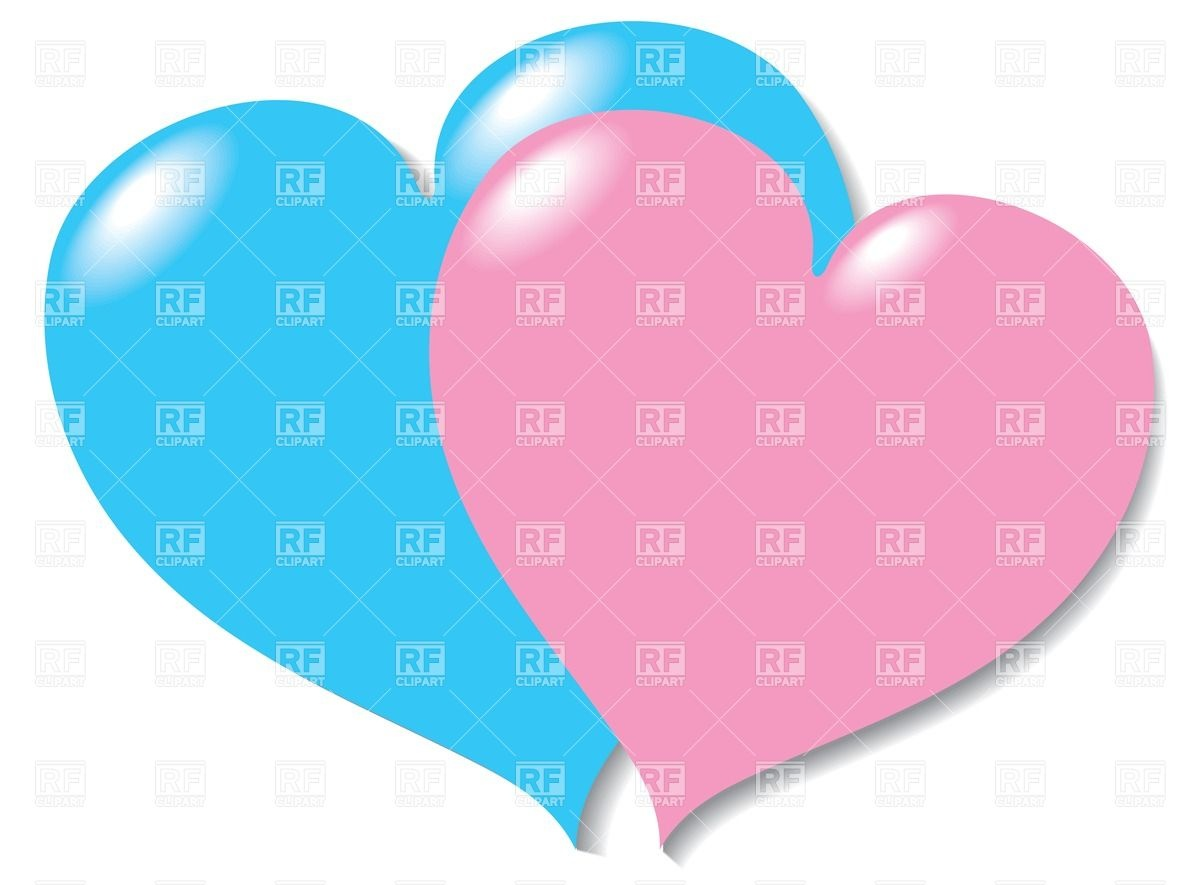 1200x885 Two Hearts