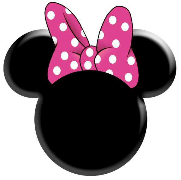 600x596 Dots Clipart Minnie Mouse