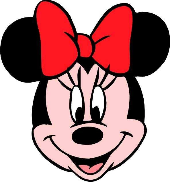 593x637 Top 10 Minnie Mouse Face Images