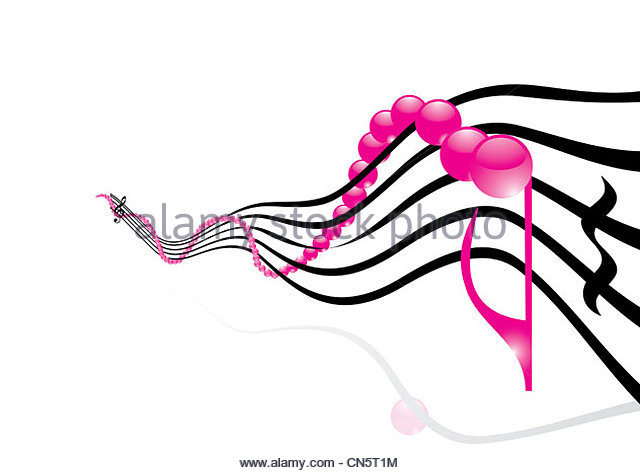 640x473 Funky Music Background Pink Notes Stock Photos amp Funky Music