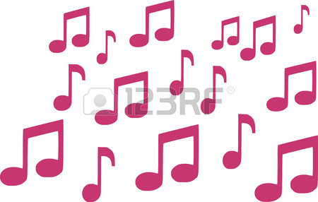 450x286 Music Notes Triple Royalty Free Cliparts, Vectors, And Stock