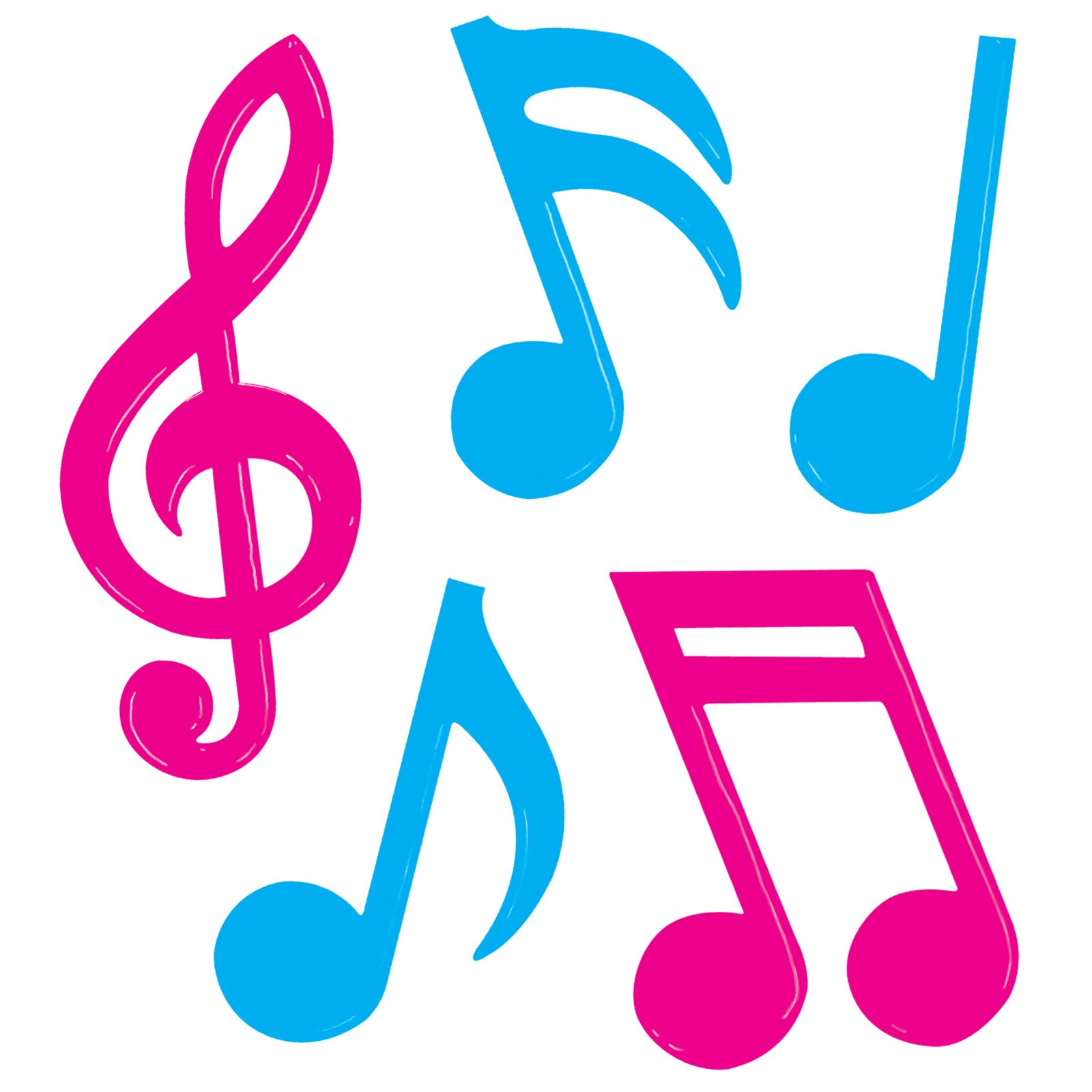 1600x1600 Pink Clipart Music Note