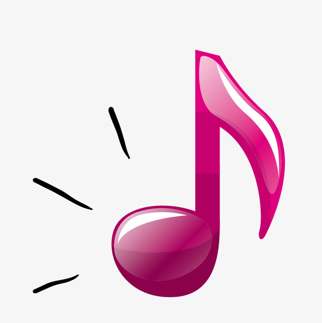 650x651 Red Stereo Vector Note Music Icon, Musical Notes, Three