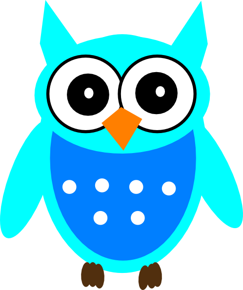 498x595 Free Cute Owl Clipart Image
