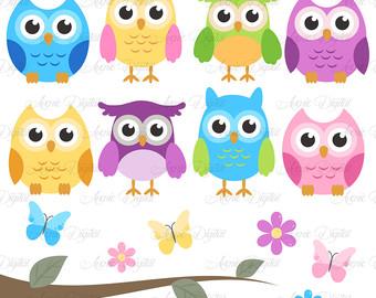 340x270 Pink Owl Clipart. Scrapbooking Printables Baby Owls Clip Art