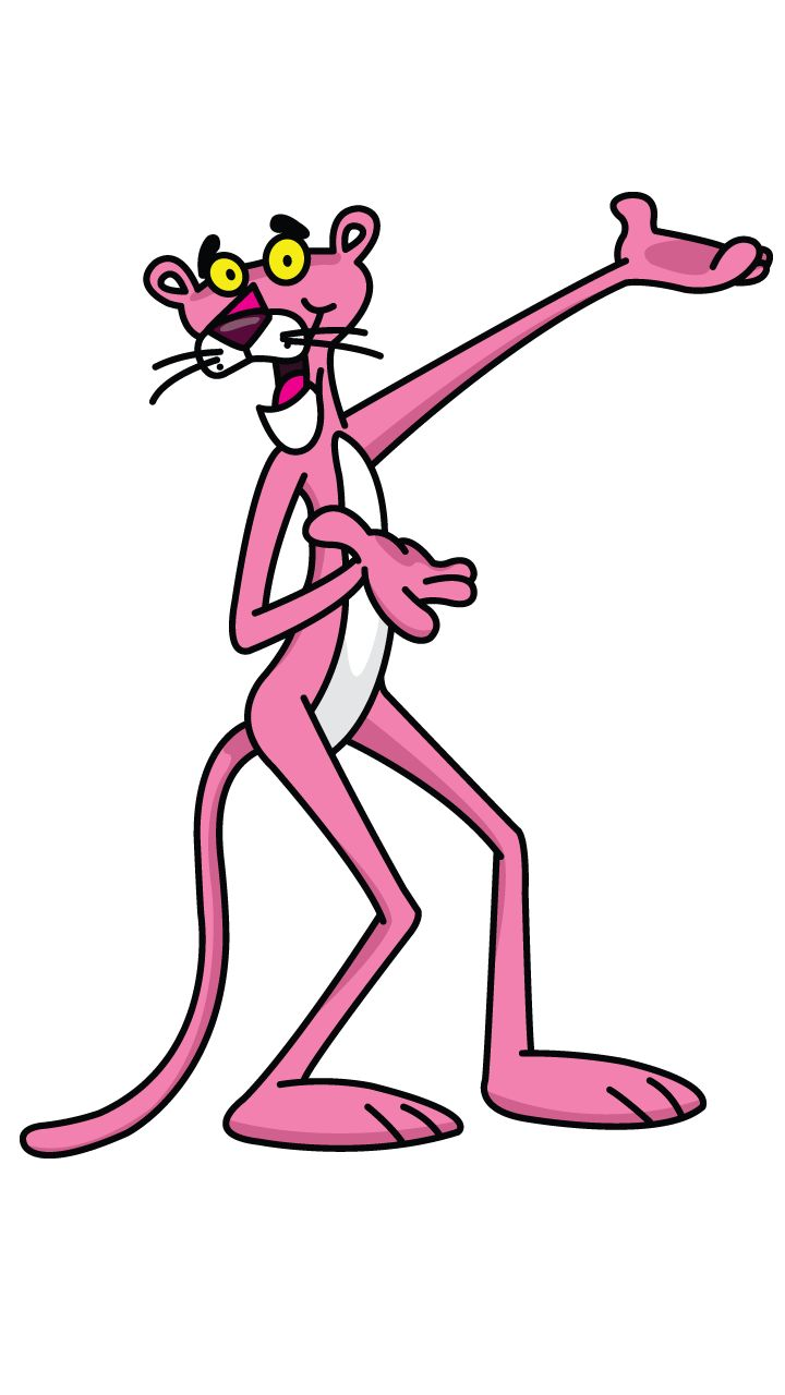 720x1280 Panther Clipart Pink Panther