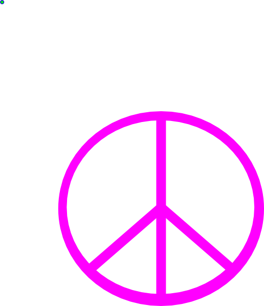 516x597 Peace Sign Clip Art