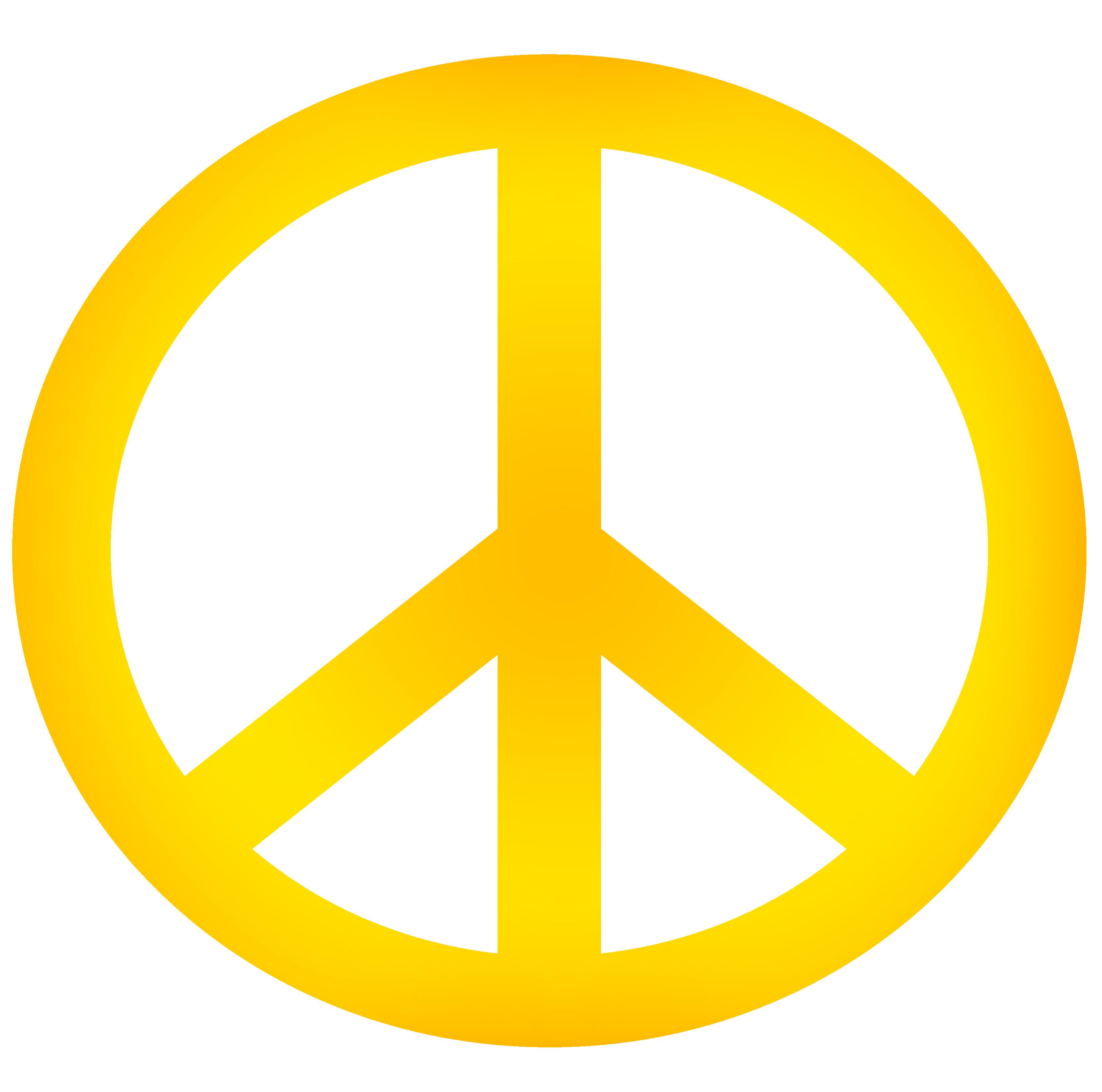 3333x3304 Peace Sign Clipart Peace Symbol