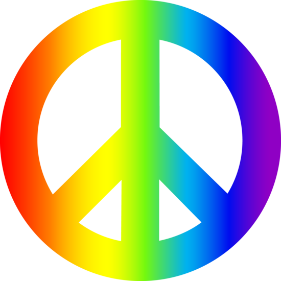 550x550 Hippies Clipart Peace