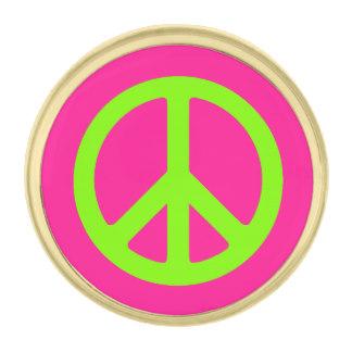 324x324 Peace Sign Lapel Pins Zazzle