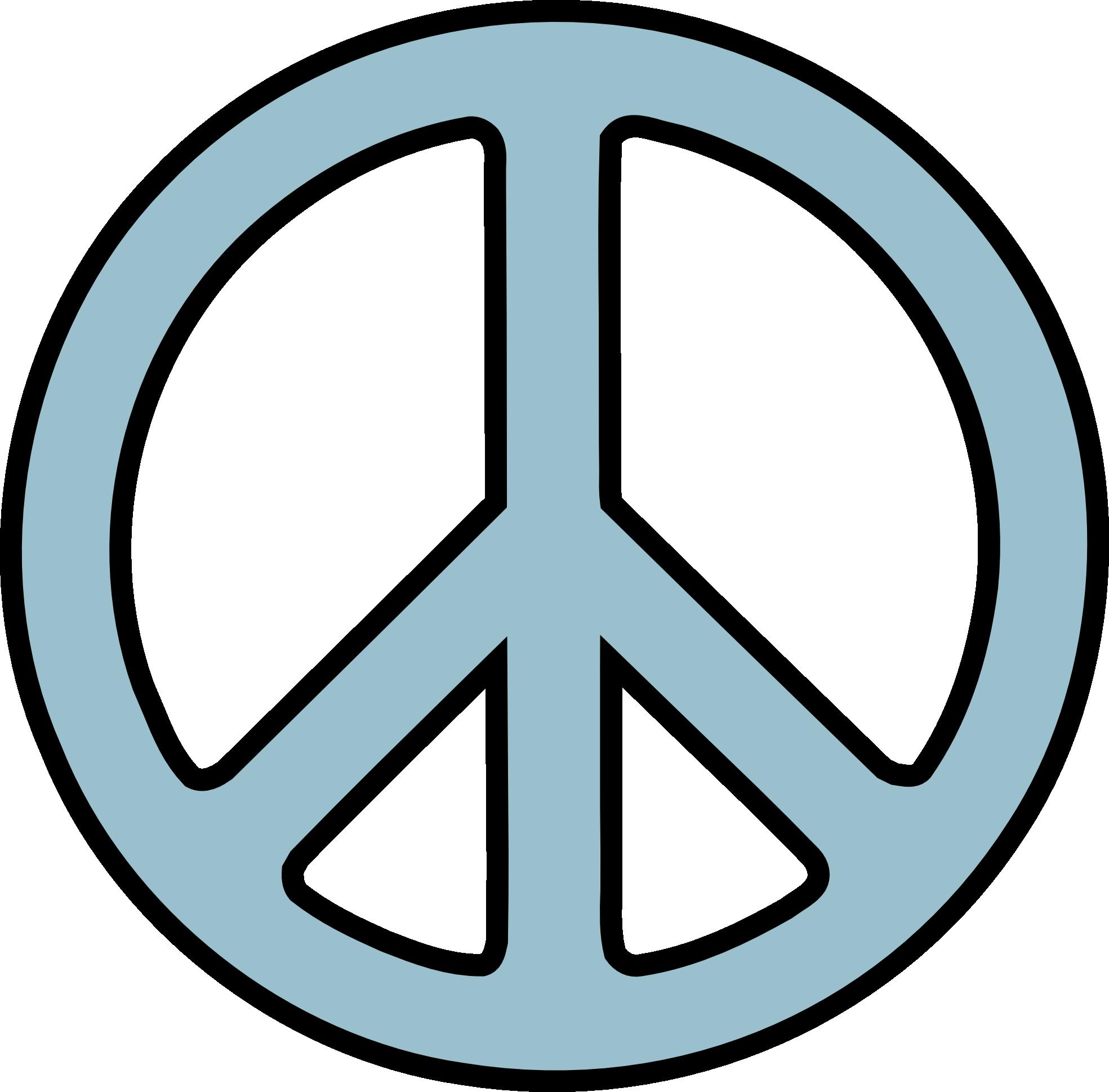 1969x1939 Peace Symbols Clipart
