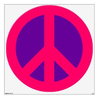324x324 Pink Peace Sign Art Amp Framed Artwork Zazzle