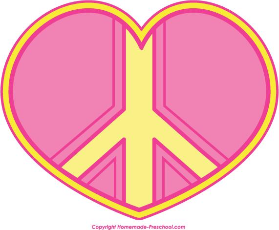 571x471 Pink Peace Sign Clipart Clipart Panda
