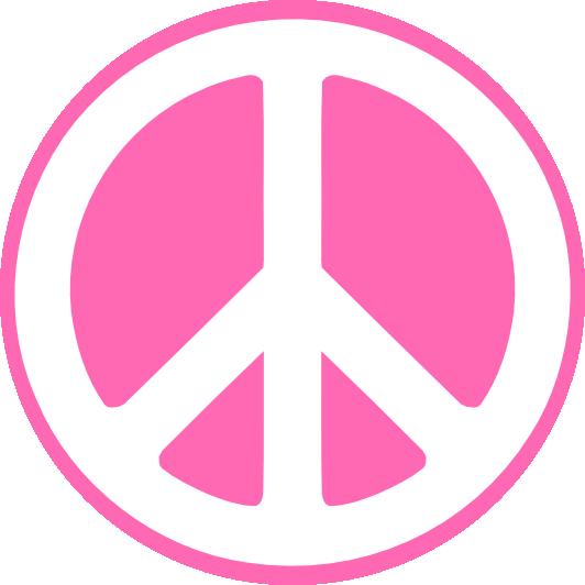 532x532 Zebra Clipart Peace Sign