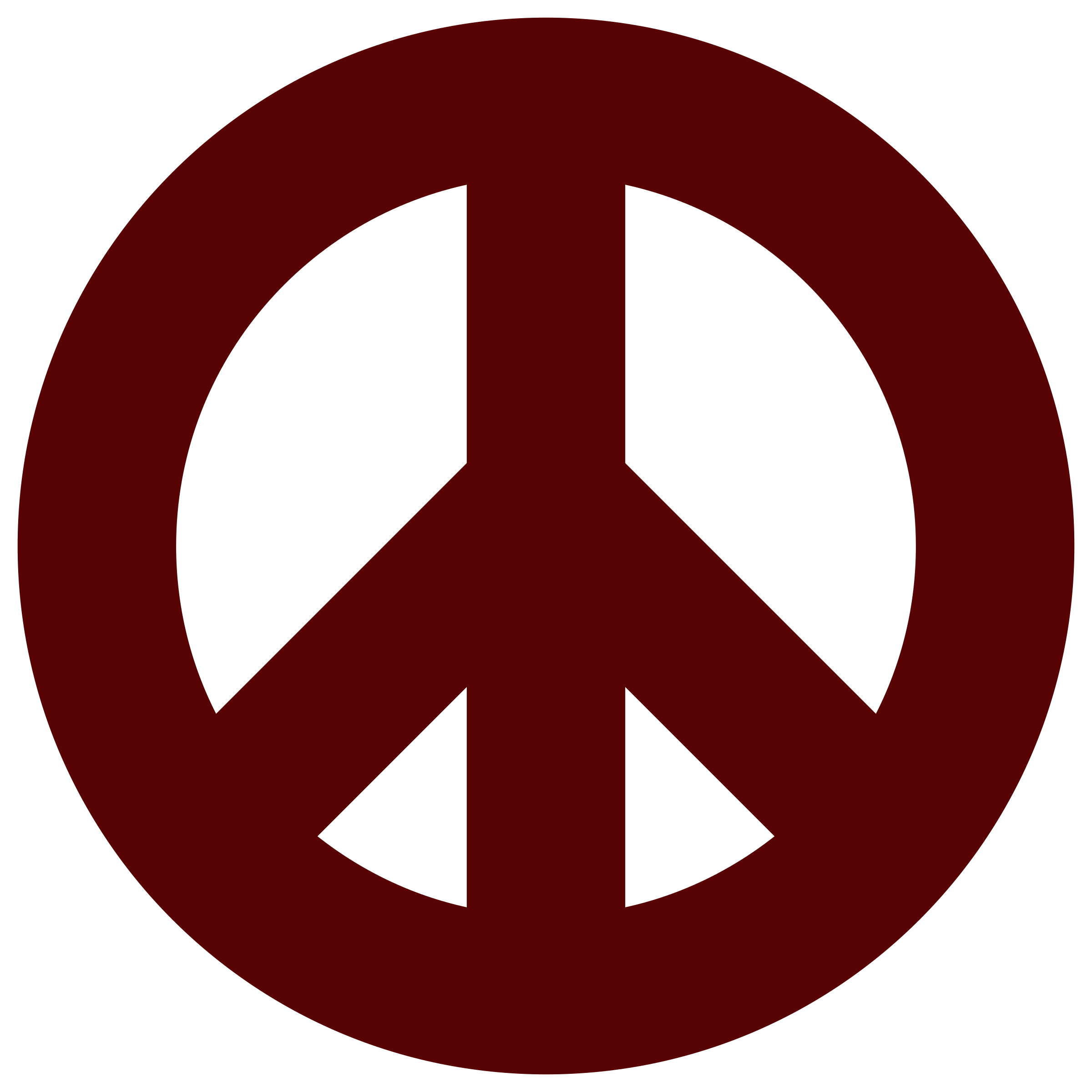 2400x2400 Clipart Peace Sign